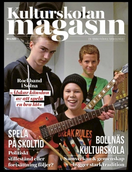 Kulturskolan magasin nr 5 2020