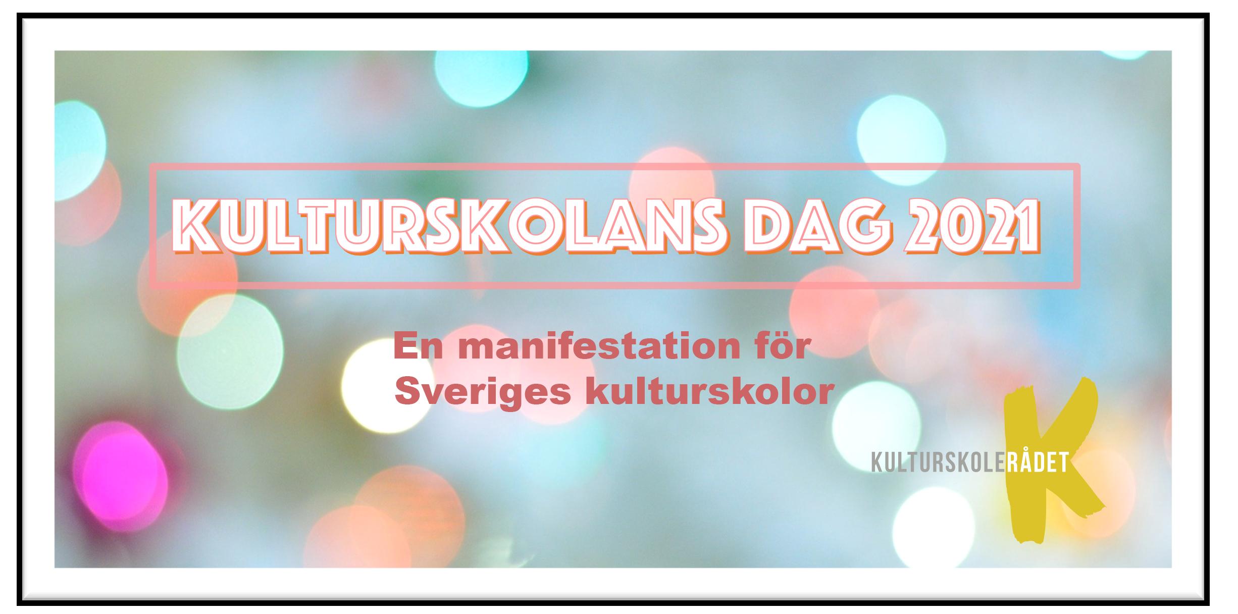 Kulturskolans dag platta hemsida